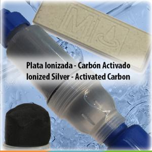 Plato Ionizado / Carbón activado